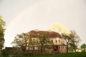 Blick auf das Gute Haus